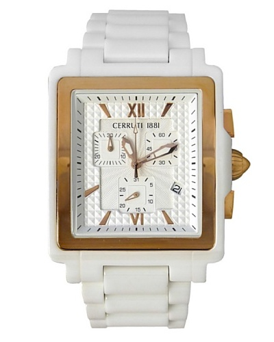 Cerruti Reloj CRB034Z211G Blanco