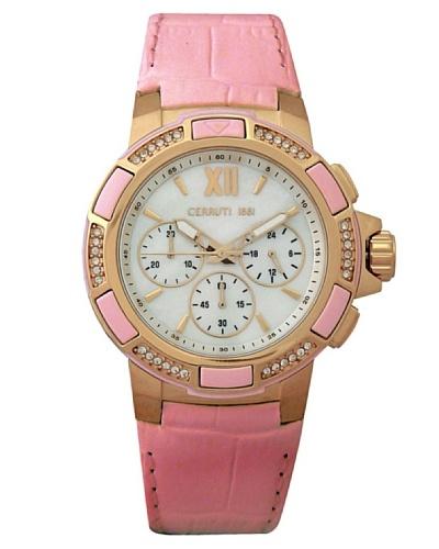 Cerruti CRM030C268H - Reloj de Señora movimiento de cuarzo con correa de piel Rosa
