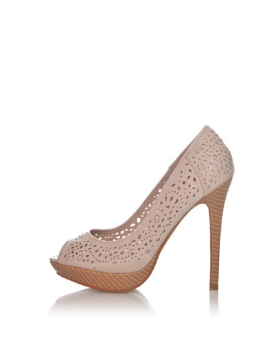 Chalada Zapatos Peep Toe Picado