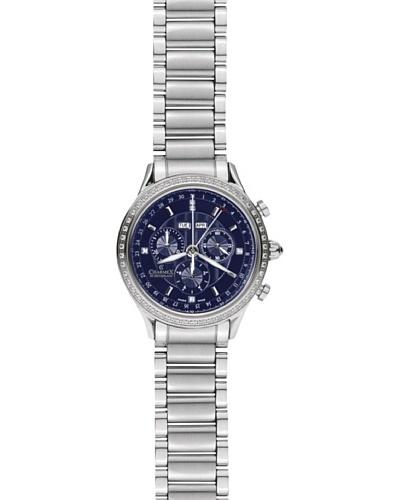 Charmex Reloj 1887 Plata / Azul Oscuro