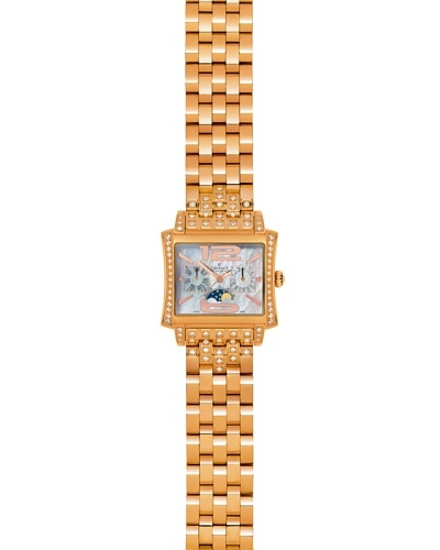 Charmex Reloj 6025 Blanco / Oro Rosa