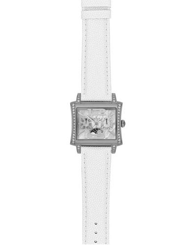 Charmex Reloj 6020 Blanco / Plata
