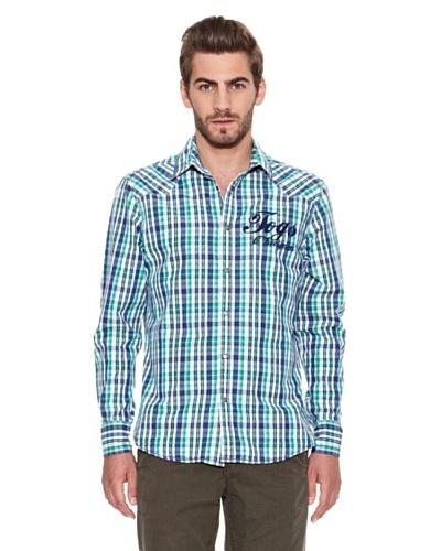 Chevignon Camisa Logo Verde