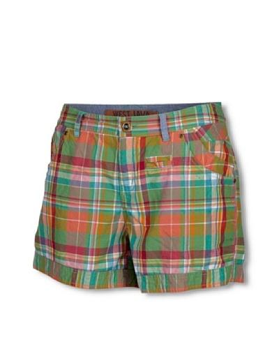 Chiemsee Shorts Mary Verde / Naranja