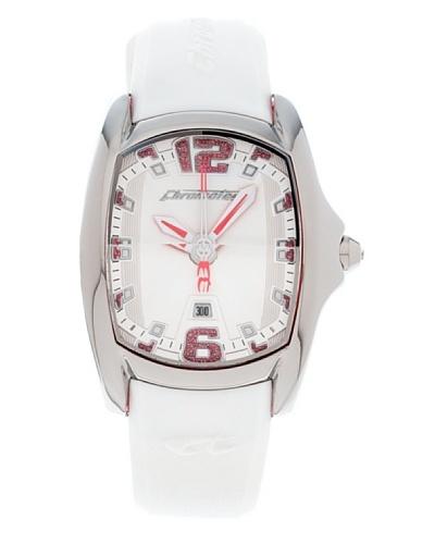 Chronotech Reloj Design First CT.7107AL/52P Blanco / Rosa