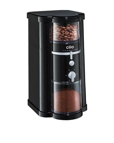 Cilio Molinillo De Café Eléctrico Arabica Negro