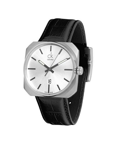CK Calvin Klein Reloj K1R21120 piel dial Blanco