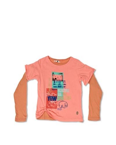 CKS Kids Camiseta Bernadette Rosa / Naranja