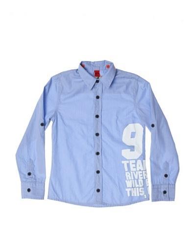 CKS Camisa Stripe Azul