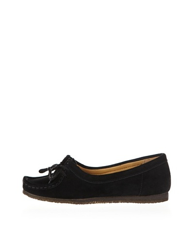 Clarks Mocasines Wallabee Chic Negro