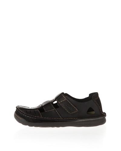 Clarks Zapatos Route Mix Negro