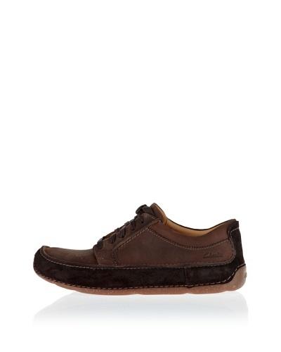Clarks Zapatos Mohave Way Marrón Oscuro