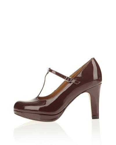 Clarks Zapatos Alva Kendra Burdeos