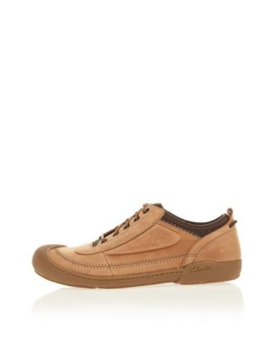Clarks Zapatos Casual Moreton Flo Beige