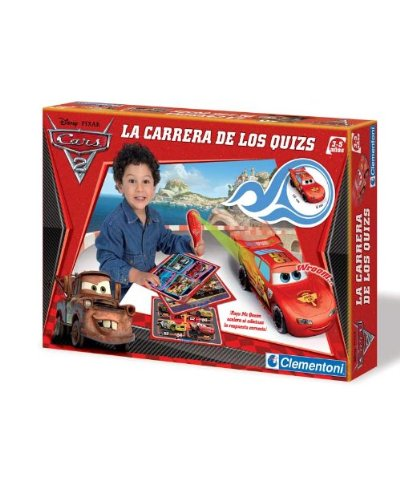 Clementoni- Coche educativo Cars 2
