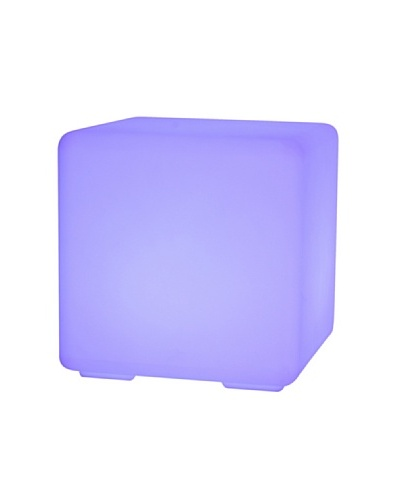Purline Cubo LED ambiental 40 cm ROCK40