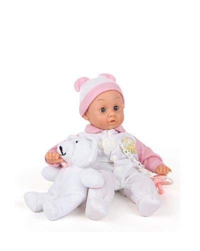 Color Baby Muñeco  dormilón 38 cm con peluche
