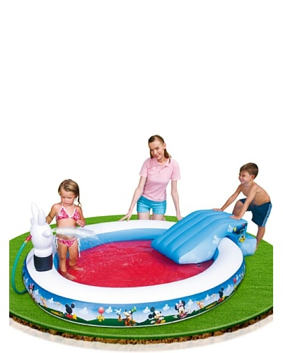 Color Baby Piscina Juegos Mickey Mouse Club House