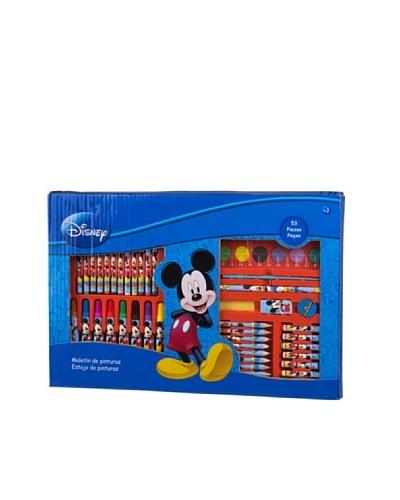 KIDZ CORNER  Maletin de pintura 53 piezas Mickey