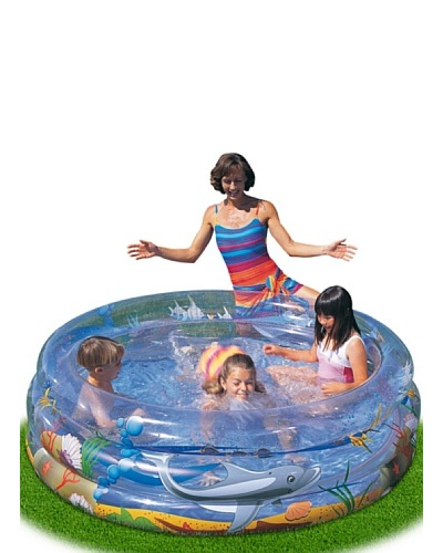 Color Baby Piscina Hinchable Sea Life 736 L