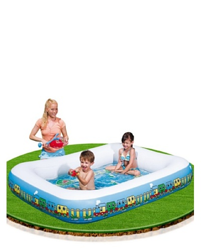 Color baby piscina bebe rectangular suelo hinchable 102 for Baby k piscinas