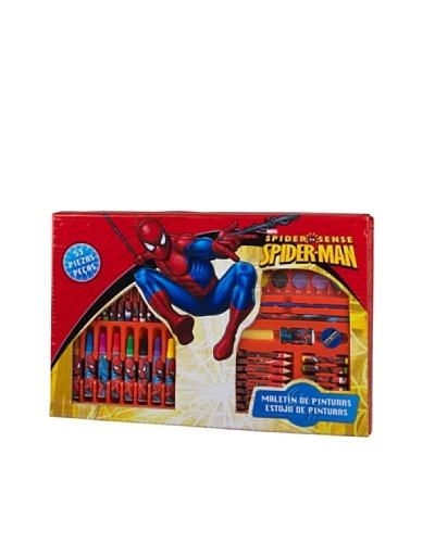 KIDZ CORNER  Maletin de pintura 53 piezas Spiderman