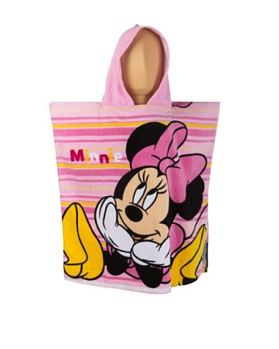 Color Baby Poncho Minnie Mouse 2/S