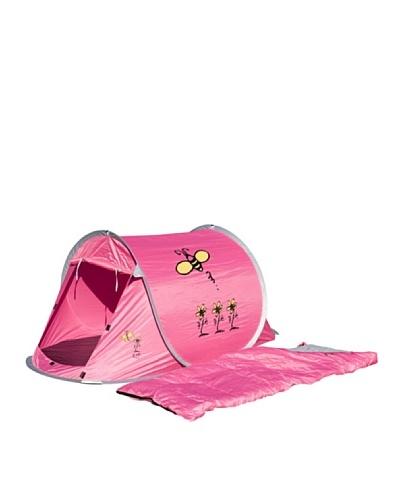 Columbus Pack Tienda de Campaña + Saco de Dormir Combo Pop Up Girl