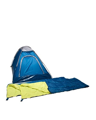 Columbus Pack Tienda Adulto + 2 Sacos de Dormir Combo Domepack