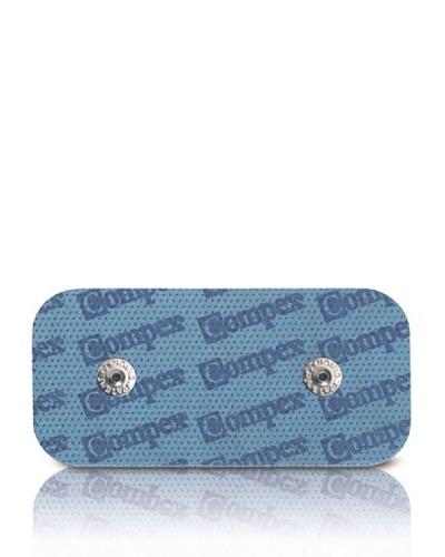 CefarCompex Dual Snap – Electrodos adhesivos (5 x 10 cm), Azul