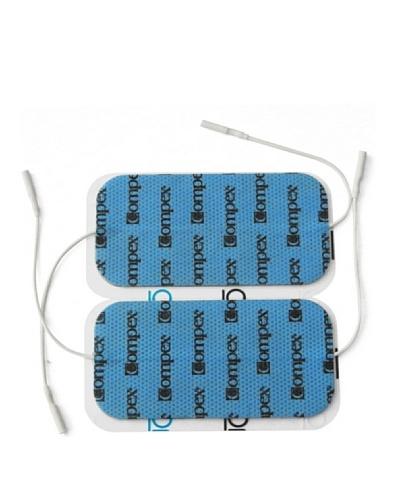 Compex Electrodos Wire Wire 5X10 Cable Dual Azul