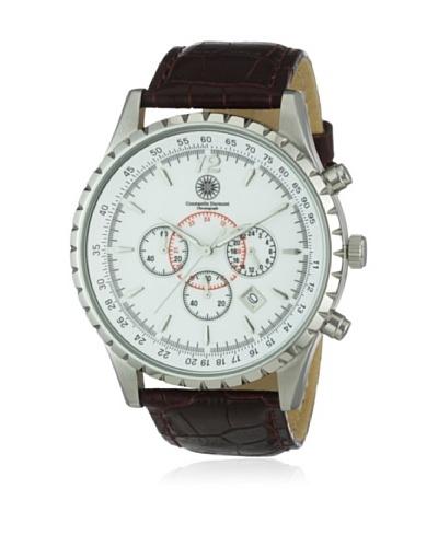 Constantin Durmont Reloj Aerotec CD-AERO-QZ-LT-STST-WH Blanco