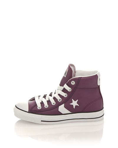 Converse Zapatillas Star Player Mid Leather