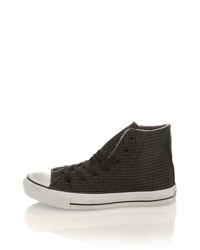 Converse Zapatillas Altas All Star Fleece Print Hound Antracita