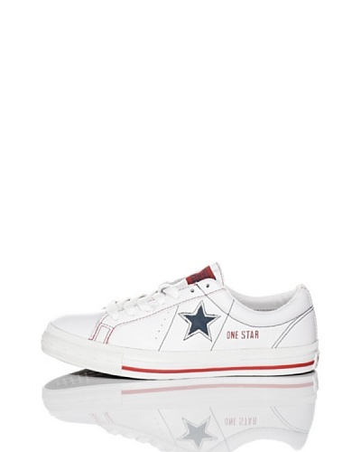 Converse Zapatillas One Star 1974 Blanco / Rojo