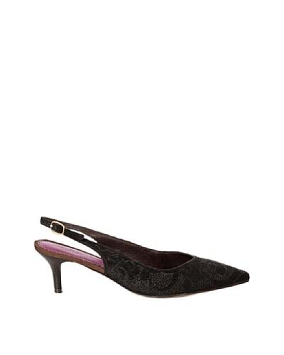 Cortefiel Zapato Destalonado Perfor Negro
