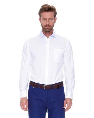 Cortefiel Camisa Cuello Combinado Rayas