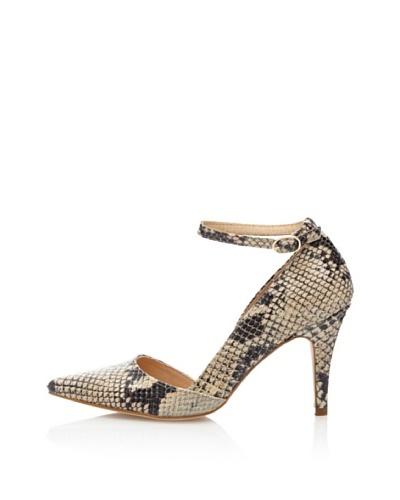 Cortefiel Zapatos Salón Tacón Mancha Animal