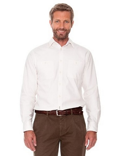 Cortefiel Camisa Lisa Crudo
