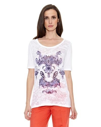 Cortefiel Camiseta Ornamental