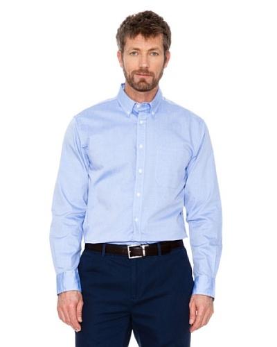 Cortefiel Camisa Lisa Azul