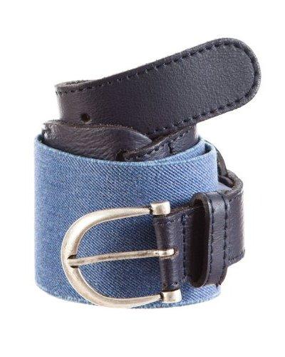Cortefiel Cinturón Elástico Azul Marino