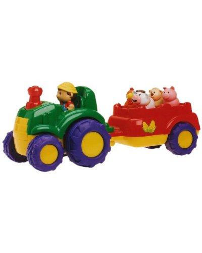 Cosas 625021 – Tractor C/Música Y Sonidos Animales 38Cm