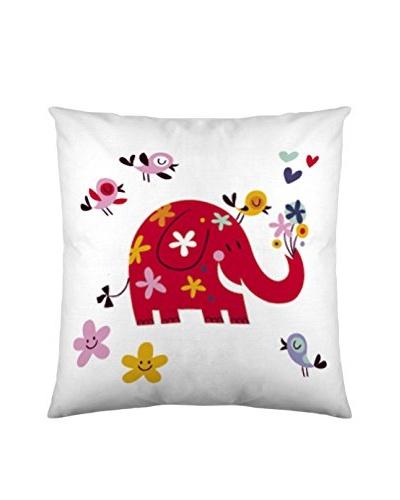 Costura Funda de Cojín Elefantti