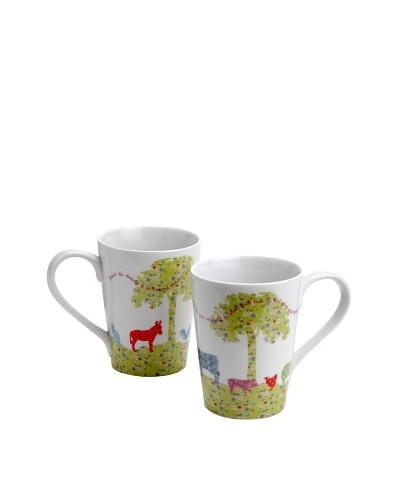Country Living Set de 4 Estuche con dos mug