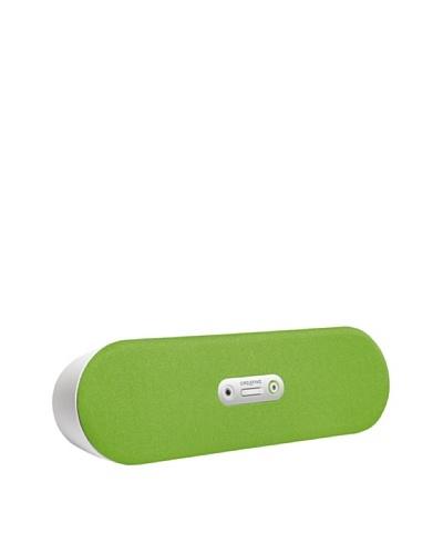 Creative D80 - Altavoz inalámbrico, verde claro