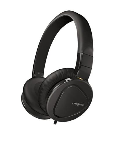 Creative Hitz MA2600 – Auriculares de diadema cerrados (con micrófono), negro