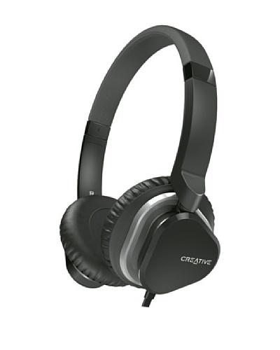 Creative Hitz MA2400 – Auriculares de diadema cerrados (con micrófono), negro
