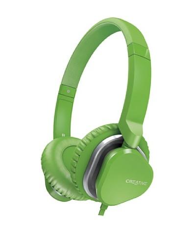 Creative Hitz MA2400 - Auriculares de diadema cerrados (con micrófono), verde