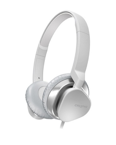 Creative Hitz MA2300 – Auriculares de diadema cerrados, color blanco
